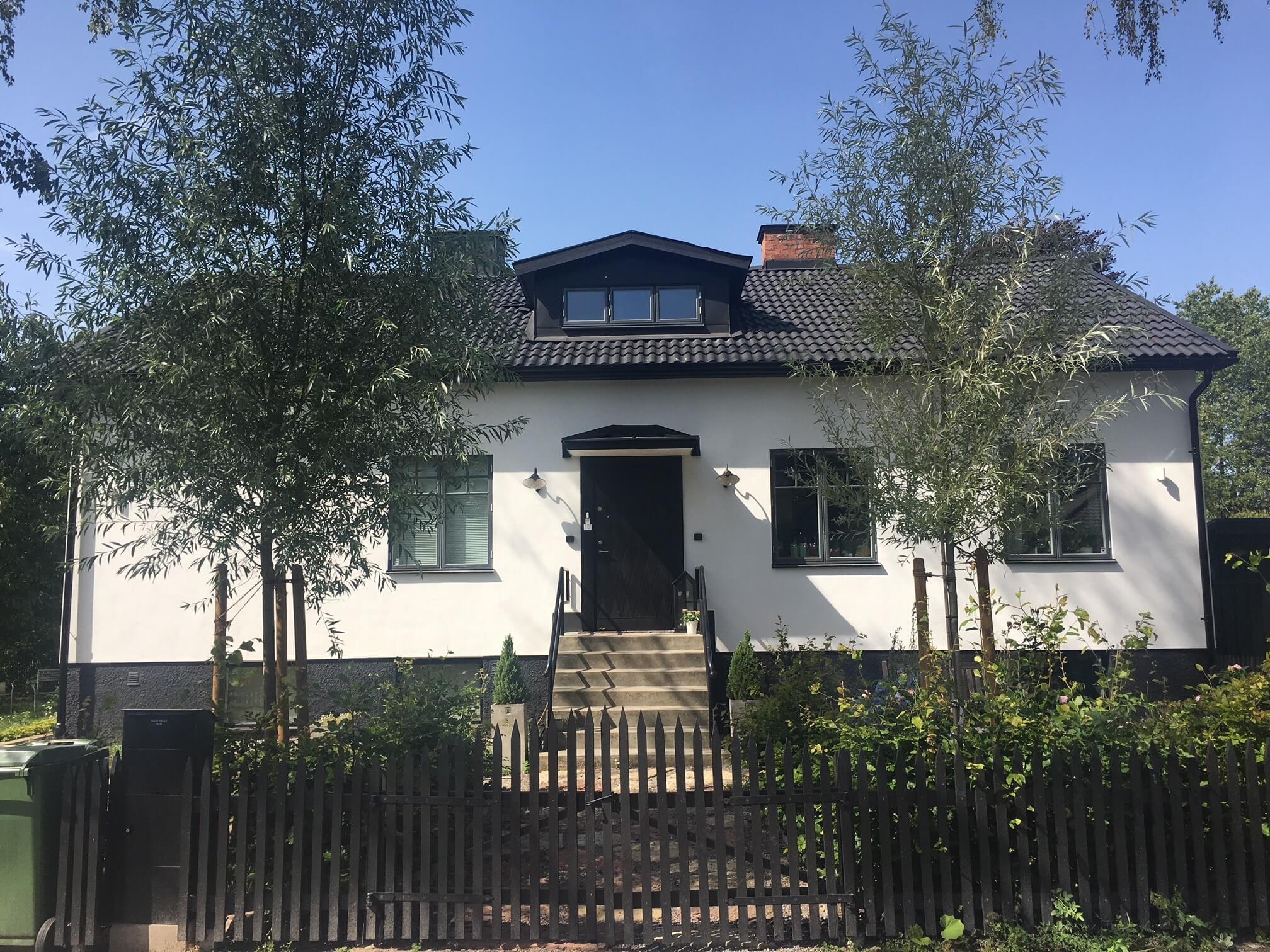 Fasadrenovering -Sollentuna
