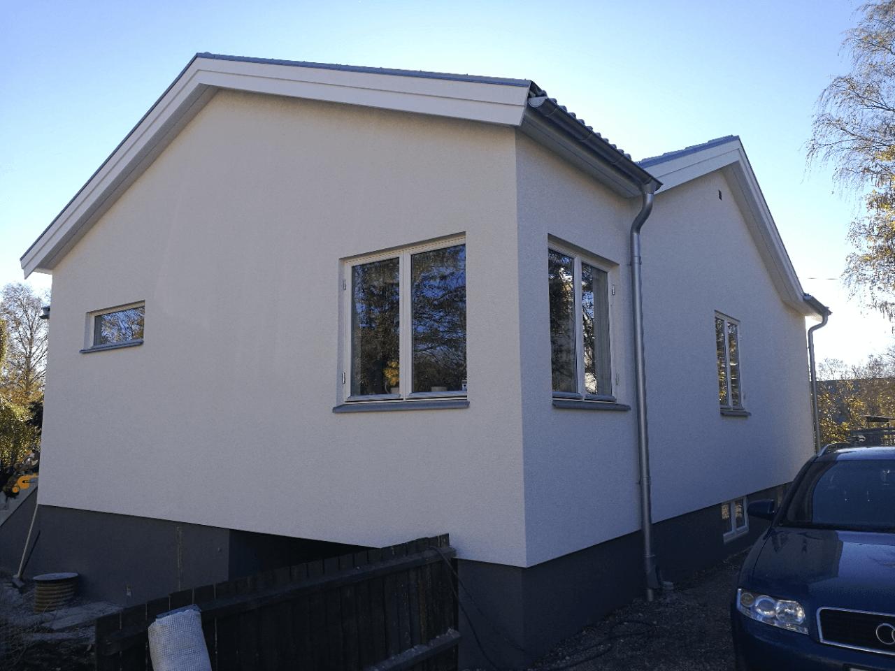Fasadrenovering -Älvsjö