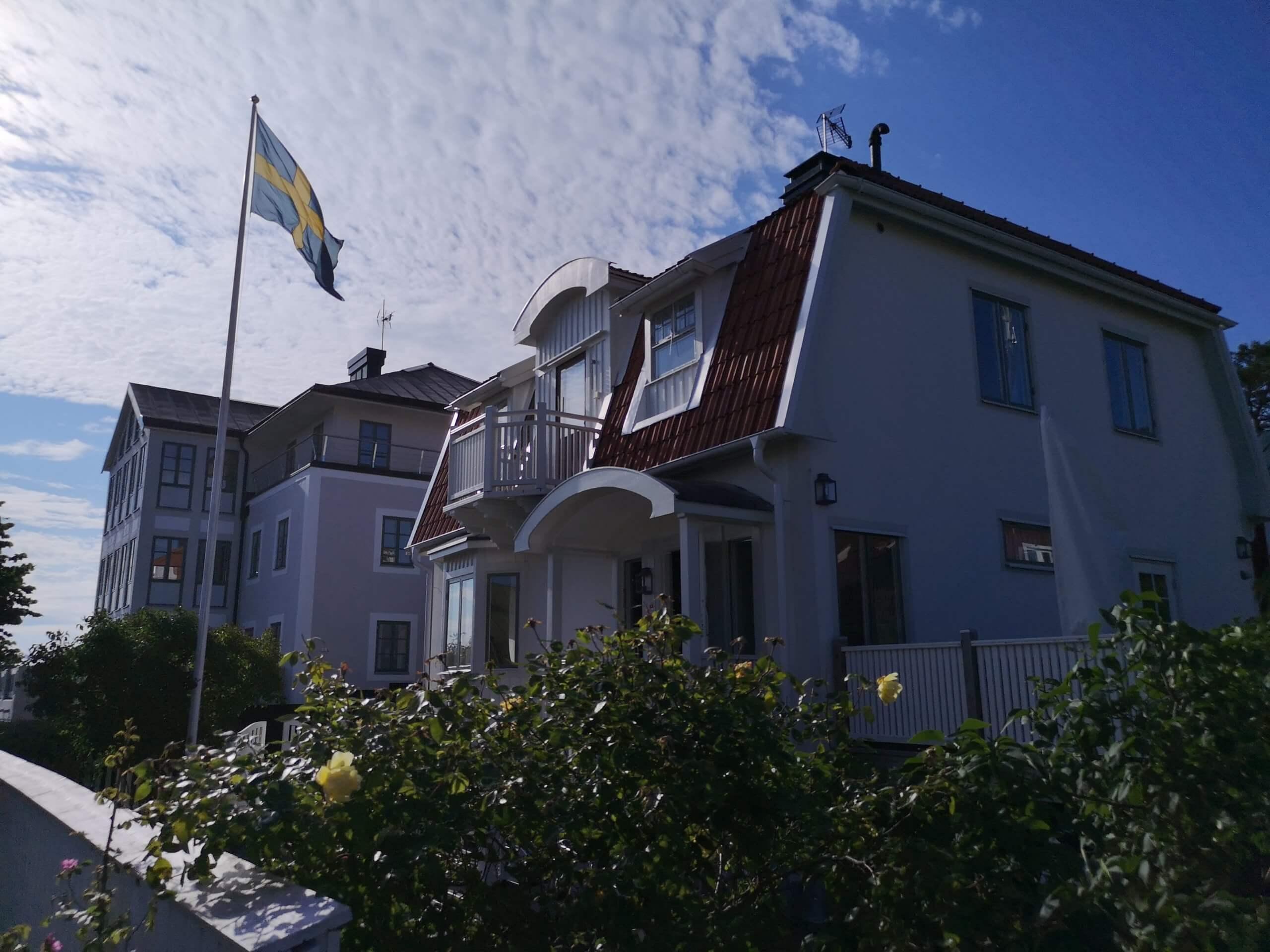 Fasadrenovering - Sandhamn