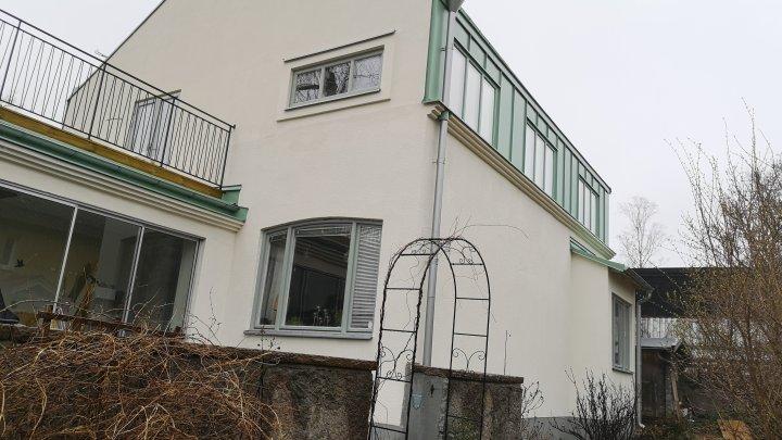 Fasadrenovering och listdragning - Älvsjö